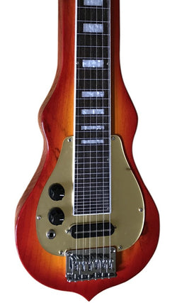 Eastwood Guitars Ricky Lap Steel LH Cherryburst Featured