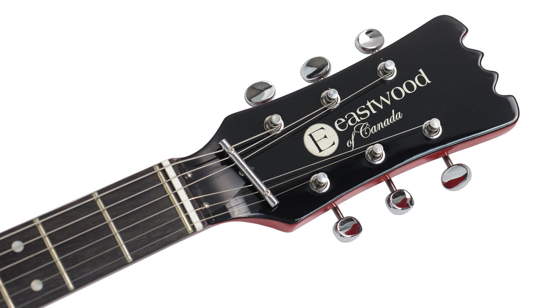 Eastwood Guitars Mark IV KC Red Headstock