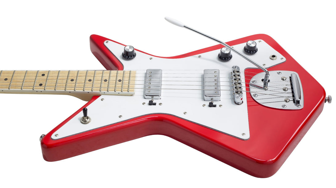 Eastwood Guitars Eastwood Gemini Red Player POV