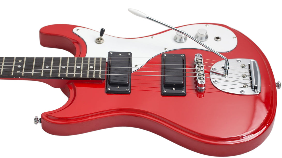 Eastwood Guitars Mark IV KC Red Player POV