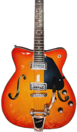 Eastwood Guitars F65 Orange Burst Featured