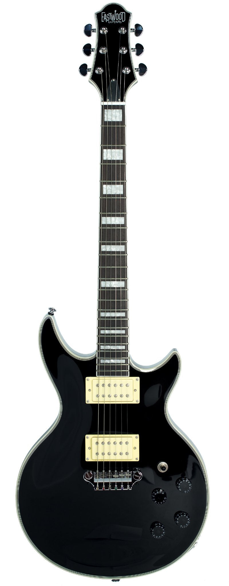 Eastwood Guitars Eastwood GP Black Full Front