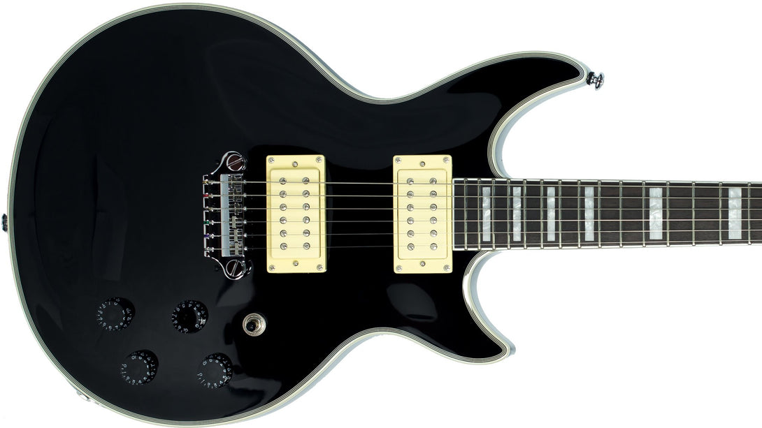 Eastwood Guitars Eastwood GP Black Closeup