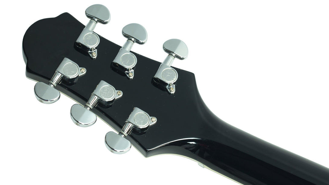 Eastwood Guitars Eastwood GP Black Head Back
