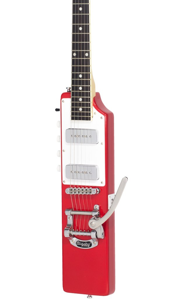 Eastwood Guitars La Baye 2x4 DEVO Signature Red Featured