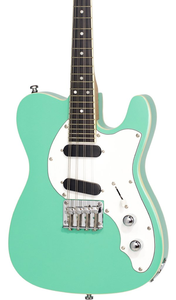 Eastwood Guitars Mandocaster Seafoam Green Featured