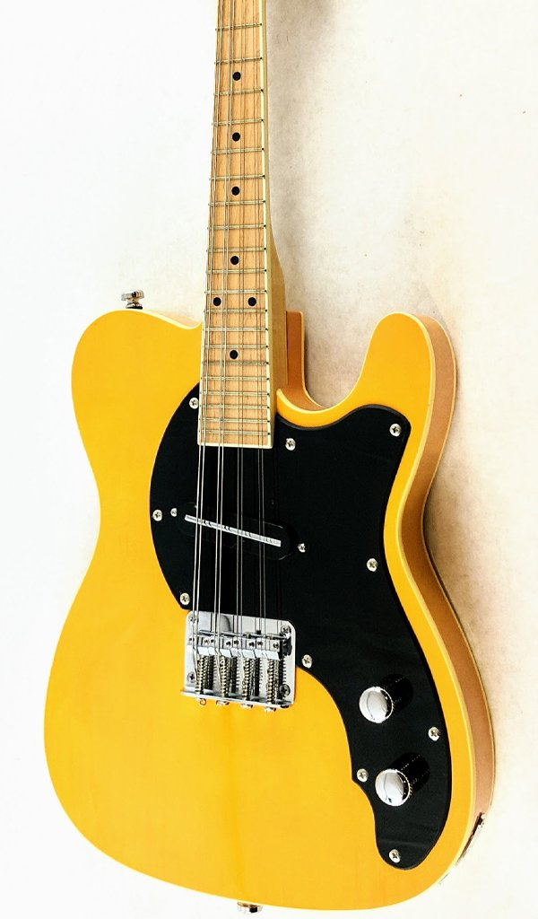 Eastwood Guitars Mandocaster 1P Butterscotch Featured