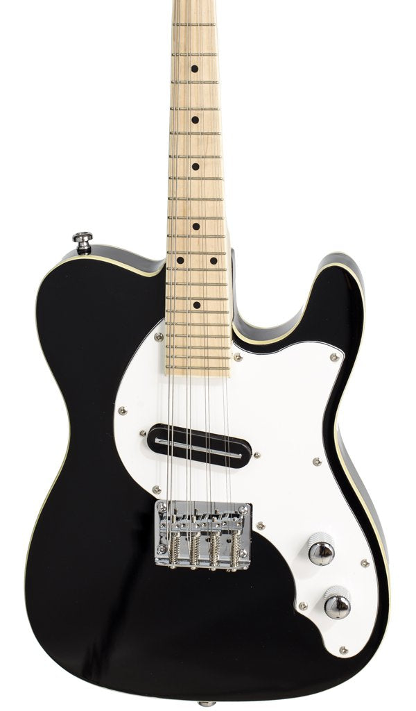 Eastwood Guitars Mandocaster 1P Black Featured