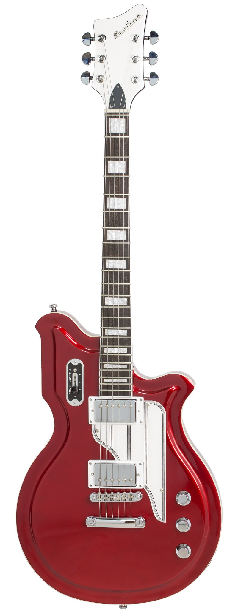Eastwood Guitars Airline Map STD Red Full Front