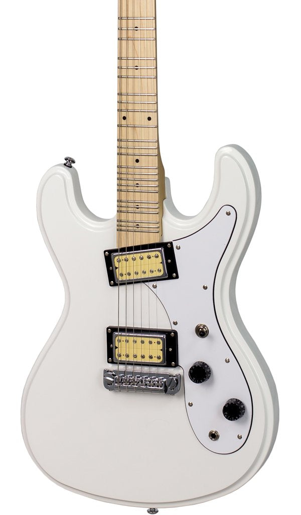 Eastwood Guitars Hi Flyer Phase IV MT White Featured