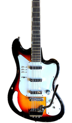 Eastwood Guitars TB64 Sunburst Featured