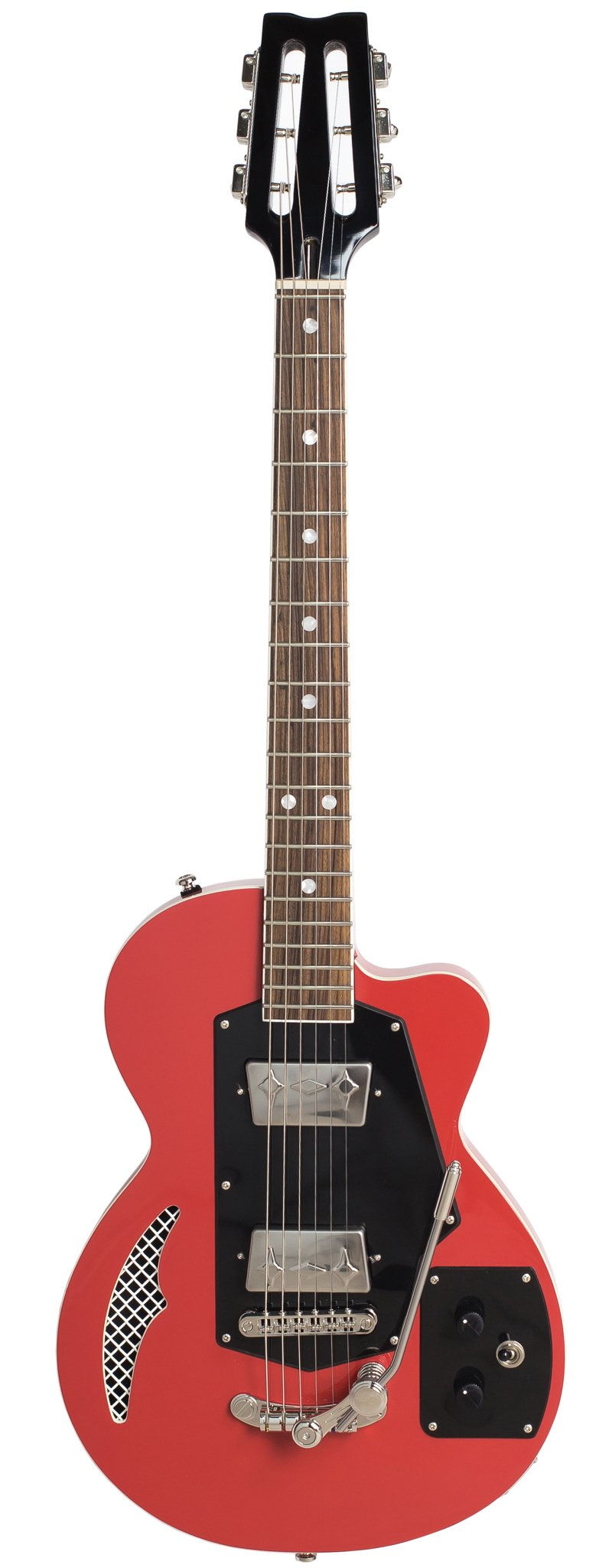 Eastwood Guitars Wandre Soloist 2P Red Full Front