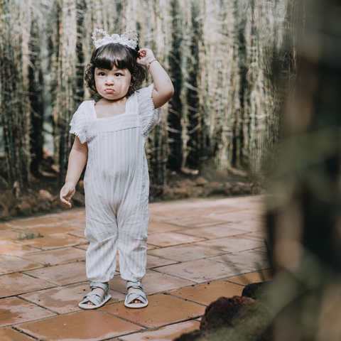 Selma White Timber Jumpsuit - thesyarifs