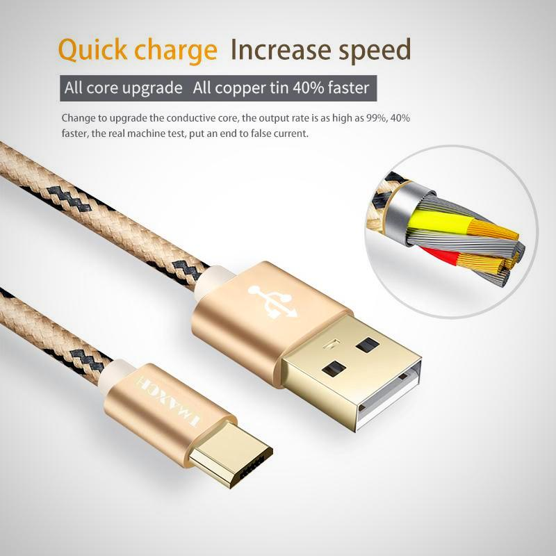 Fast Charging Rose Gold Universal Charging Cable