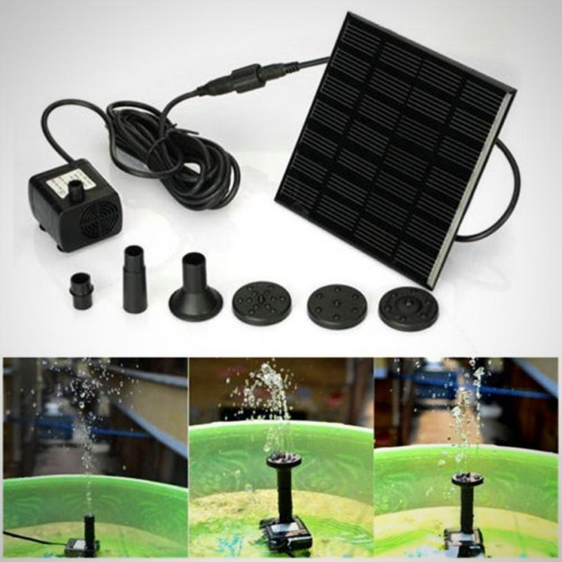 Outdoor Solar Powered Water Pump Fountain - The # 1 What If Store