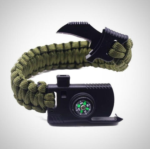 NEW Military Outdoor Paracord Survival Bracelet