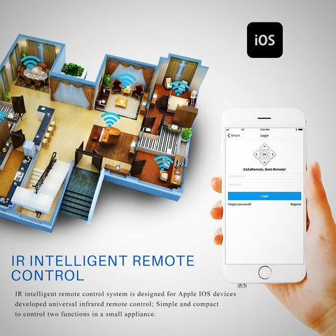 Wireless Intelligent IR Remote Control 3.5mm Plug Infrared Smart For Home Appliances - The # 1 What If Store