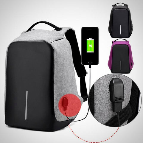 ANTI-THEFT USB Charge Port  & Concealed Zippers Backpack - The # 1 What If Store