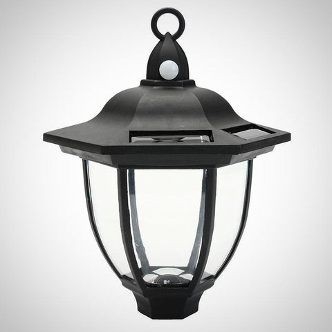 Cottage Motion Sensor LED Solar Porch Light
