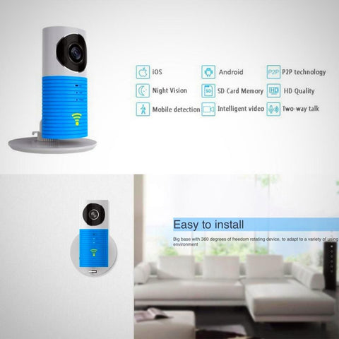 Infrared Night Vision Smart Wireless Security Camera