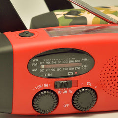 Hand Crank Solar Emergency Radio