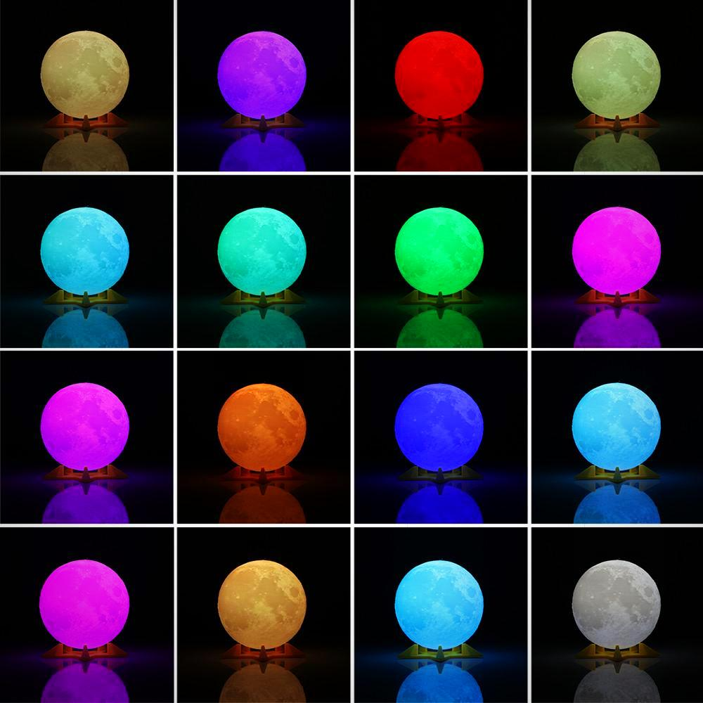 Magical Night Light Desk Lamp USB Rechargeable Light Multi-color