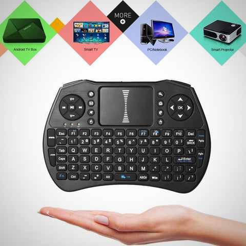 NEW! Wireless Keyboard, Touchpad, Handheld Remote Control - The # 1 What If Store