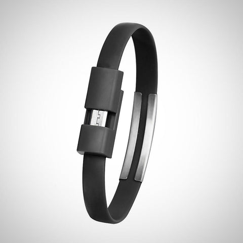 Android Wristband Micro USB Cable Charger Charging Data Sync