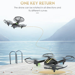 Diamond Shape Collapsible Drone