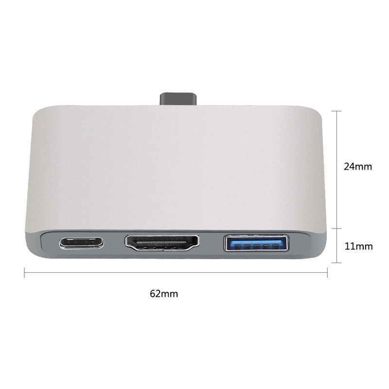3-1 HDMI Type C to 4K PD USB-C Dock USB 3.0 Dex Mode