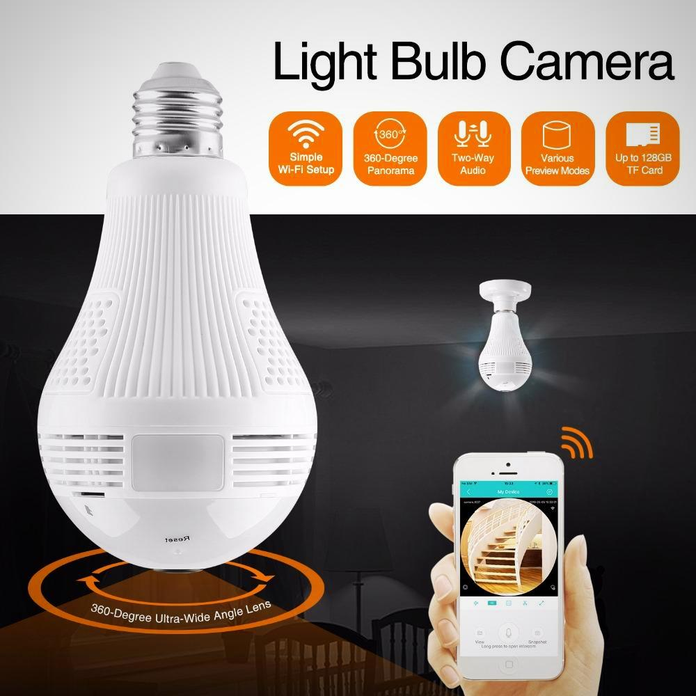 This innovative On-Watch 360 Security Bulb Camera Is The BEST On The Market And is our Number One Seller!