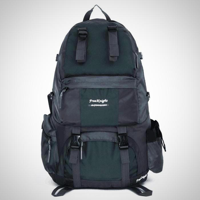 Free Knight FK0218 50L Outdoor Waterproof Nylon Backpack Gray - The # 1 What If Store
