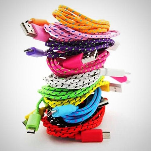 We Have Your Extra Long Charge Cable In Assorted Colors
