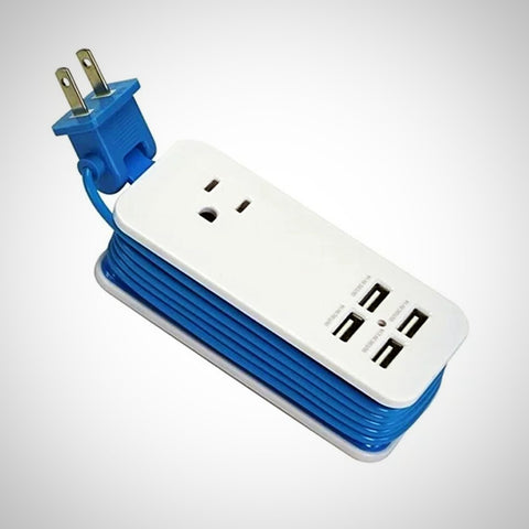BRAND NEW Portable Charging Station with 4 USB Ports - The # 1 What If Store