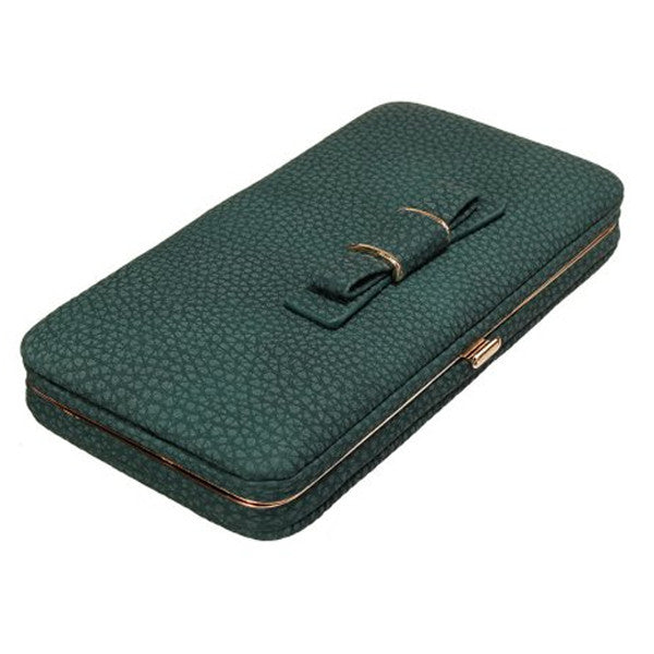 Brand New Bow Wallet Phone Organizer Great For A Night Out