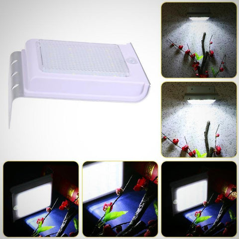 16 LED Solar Powered Waterproof Motion Security Light