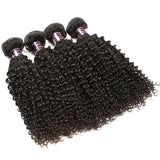 ishow brazilian curly human hair weave 4 bundles