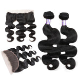 allove peruvian body wave virgin hair 3 bundles with 13 4 lace frontal