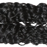 ishow best indian virgin human hair water wave 4 pcs lot