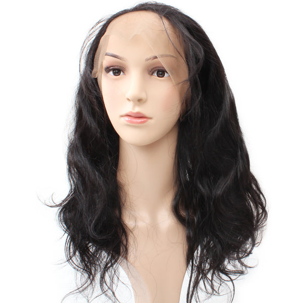 Easy Hair Peruvian Body Wave Human Hair 360 Lace Frontal Closure 1pc/lot - Easy Hair