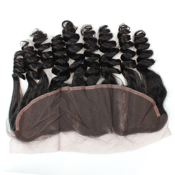 Easy Hair Unprocessed Malaysian 13x4 Loose Wave Lace Frontal Virgin Human Hair - Easy Hair