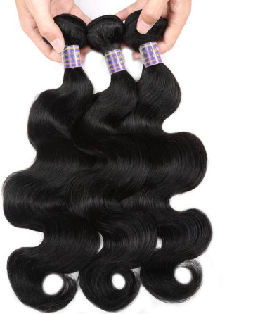 Easy Hair Brazilian Body Wave Human Hair 3 Bundles With 360 Lace Frontal Closure - Easy Hair