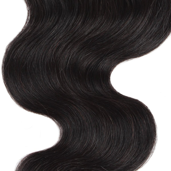 Easy Hair Virgin Indian Body Wave Human Hair Lace Closure 4*4 Swiss Lace Closure - Easy Hair
