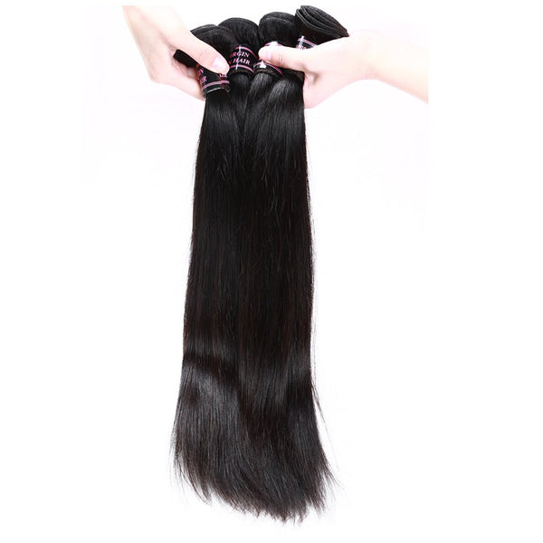 Ishow Peruvian Straight Virgin Hair Unprocessed Human Hair Weave 3pcs/lot
