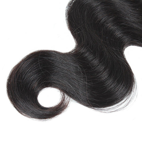 Ishow Body Wave Peruvian Virgin Human Hair Weave 4 Bundles - Easy Hair