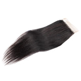 Peruvian Straight Lace Closure 4x4 Swiss Lace Closure Straight Human Hair