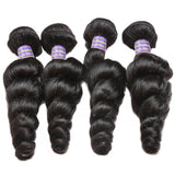 allove peruvian loose wave hair loose curly human hair 4 bundles
