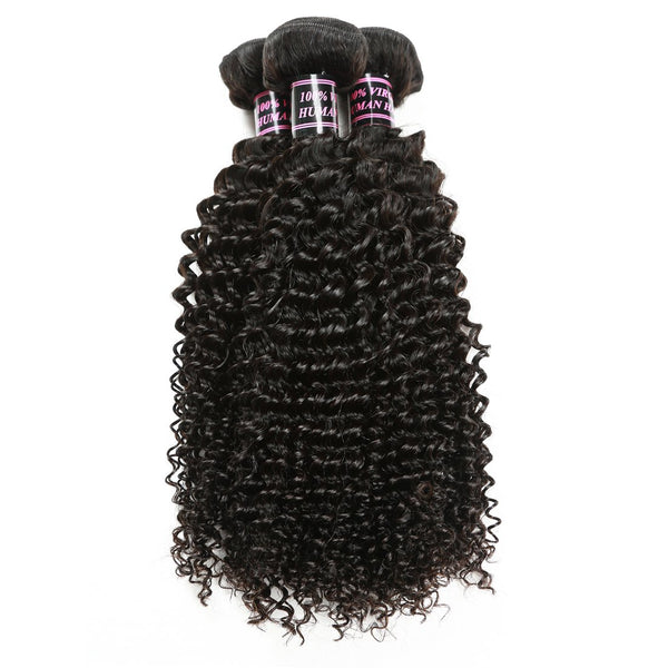 Easy Hair Best Indian Virgin Curly Human Hair Weave 3 Bundles - Easy Hair