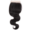 Easy Hair Virgin Indian Body Wave Human Hair Lace Closure 4*4 Swiss Lace Closure
