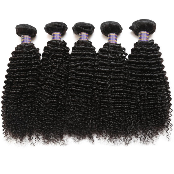 Easy Hair 10A High Quality Indian Virgin Human Hair Kinky Curly Virgin Hair 4 Bundles - Easy Hair
